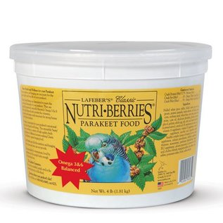 LAFEBER COMPANY LAFEBER PARAKEET NUTRI-BERRIES 3.25# TUB