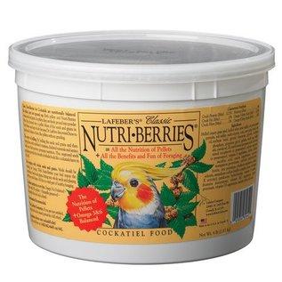 LAFEBER COMPANY LAFEBER COCKATIEL NUTRI-BERRIES 4# TUB