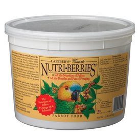 LAFEBER COMPANY LAFEBER PARROT CLASSIC NUTRI-BERRRIES 3.25# TUB