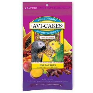 LAFEBER COMPANY Lafeber Avi-Cakes Fruit Delight Parrot 8oz