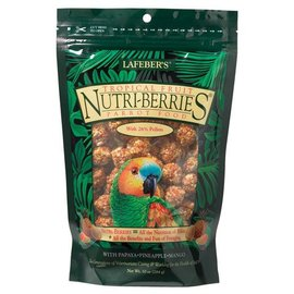LAFEBER COMPANY LAFEBER PARROT NUTRI-BERRIES TROPICAL FRUIT 10OZ BAG