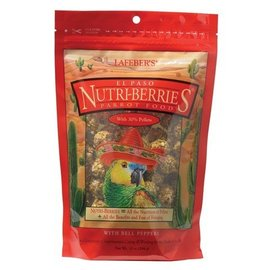 LAFEBER COMPANY LAFEBER PARROT NUTRI-BERRIES EL PASO 10OZ BAG