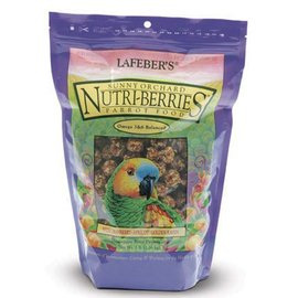 LAFEBER COMPANY LAFEBER PARROT SUNNY ORCHARD NUTRI-BERRIES 3# BAG