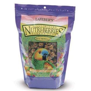 LAFEBER COMPANY LAFEBER PARROT SUNNY ORCHARD NUTRI-BERRIES 3# BAG