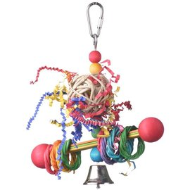 "SUPERBIRD CREATIONS Vine Ring Tweeter Totter Bird Toy, Small  7"" X 5.5"""