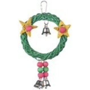 SUPERBIRD CREATIONS Christmas Wreath Vine Swing