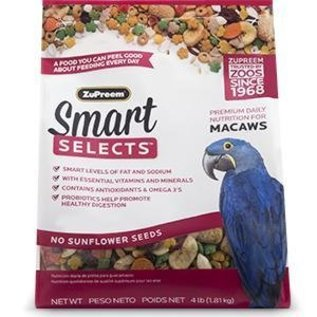 ZuPreem Smart Selects Premium Daily Nutrition for Macaws 4#