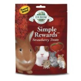 OXBOW OXBOW SMALL ANIMAL SIMPLE REWARD STRAWBERRY TREAT .5OZ