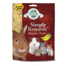 OXBOW OXBOW SMALL ANIMAL SIMPLE REWARD BANANA TREAT 1OZ