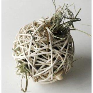 Pollen Ball Jumbo (oxbow hay, nubbies, pinecone, organic dried flowers & apple sticks)