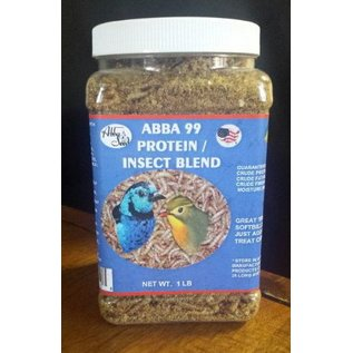ABBA PRODUCTS ABBA 1LB PROTEIN / INSECT BLEND BAG