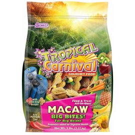 FM BROWN'S Tropical Carnival Macaw Big Bites 5 lb.