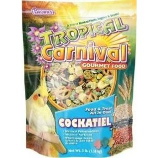 FM BROWN'S Tropical Carnival Cockatiel 3 lb.