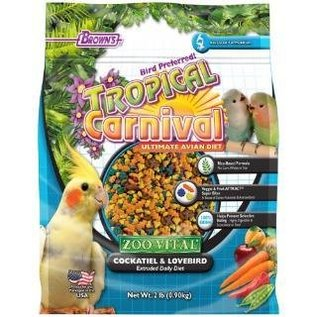F.M. Brown's Zoo Vital Tiel/Lovebird Food 2# *REPL 423275