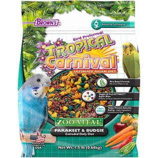 F.M. Brown's Zoo Vital Keet/Budgie Food 1.5# *REPL 423274