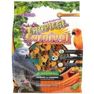 F.M. Brown's Zoo Vital Parrot/Conure Food 2.75# *REPL 423276