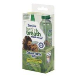 Tropiclean Fresh Breath Teeth Gel Kit 6 oz.