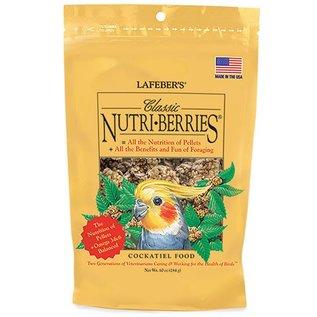 LAFEBER COMPANY LAFEBER COCKATIEL NUTRI-BERRIES  10 OZ BAG