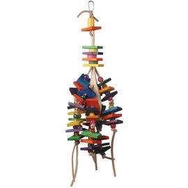 SUPERBIRD CREATIONS Super Bird Creations 18 by 7-Inch Stir it Up Bird Toy, Large