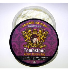 Phoenix Artisan Accoutrements PAA Tombstone Shave Soap