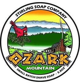 Stirling Soap Co. Ozark Mountain Shave Soap
