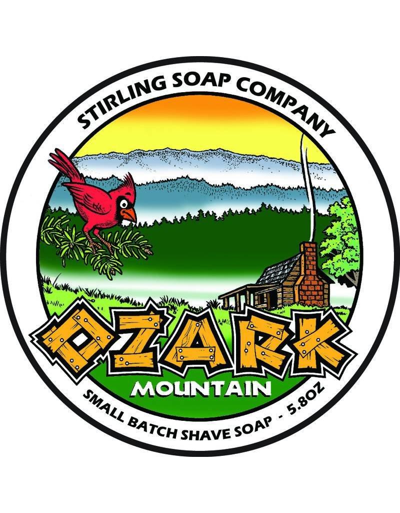 Stirling Soap Co. Stirling Shave Soap - Ozark Mountain