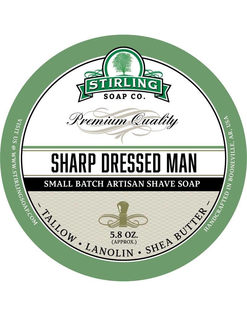 Stirling Soap Co. Stirling Shave Soap - Sharp Dressed Man