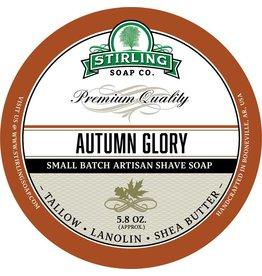 Stirling Soap Co. Autumn Glory Shave Soap