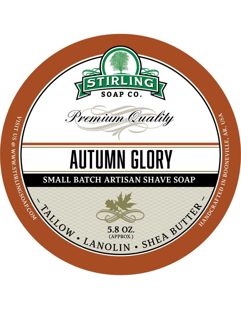 Stirling Soap Co. Stirling Shave Soap - Autumn Glory