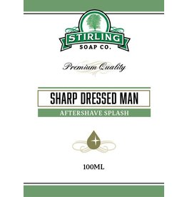 Stirling Soap Co. Stirling Aftershave Splash - Sharp Dressed Man