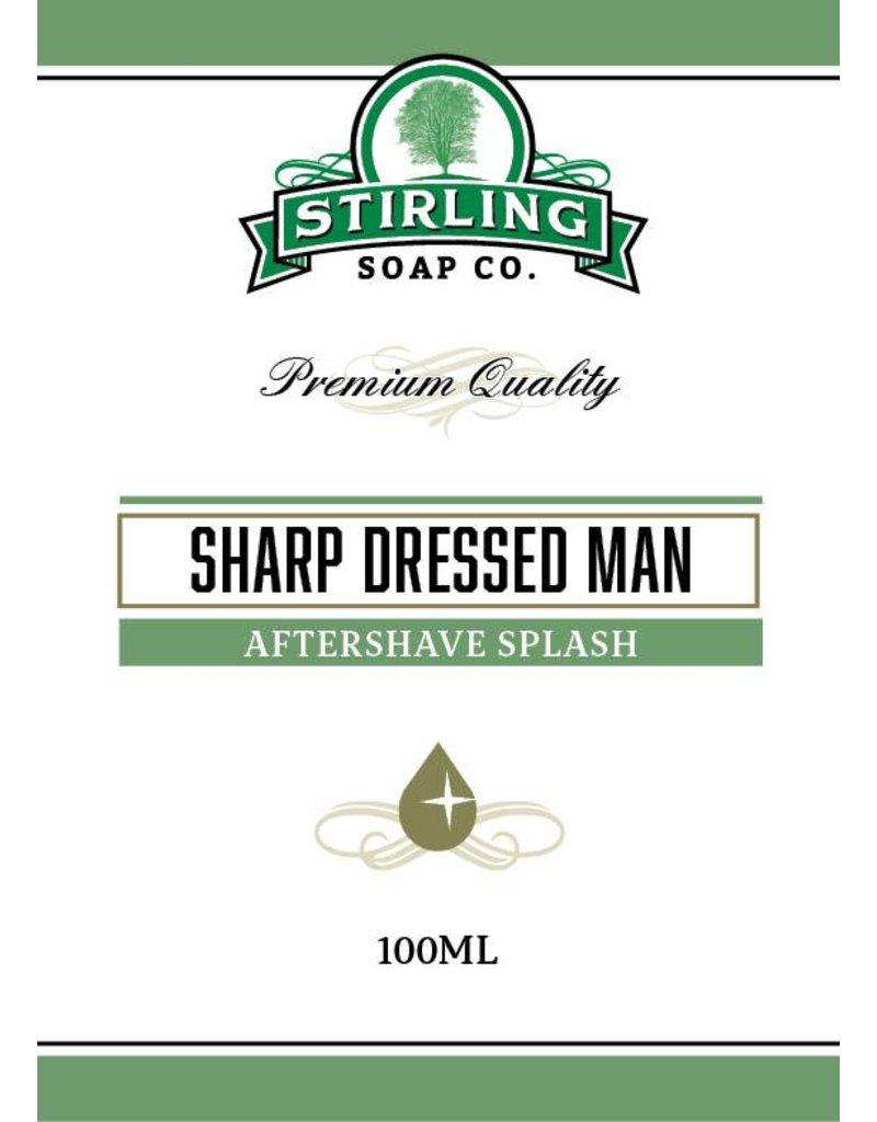 Stirling Soap Co. Stirling Aftershave Splash - Sharp Dressed Man