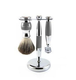 Edwin Jagger Edwin Jagger Safety Razor Set - Grey