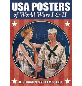 USA Posters of World Wars I & II Playing Cards