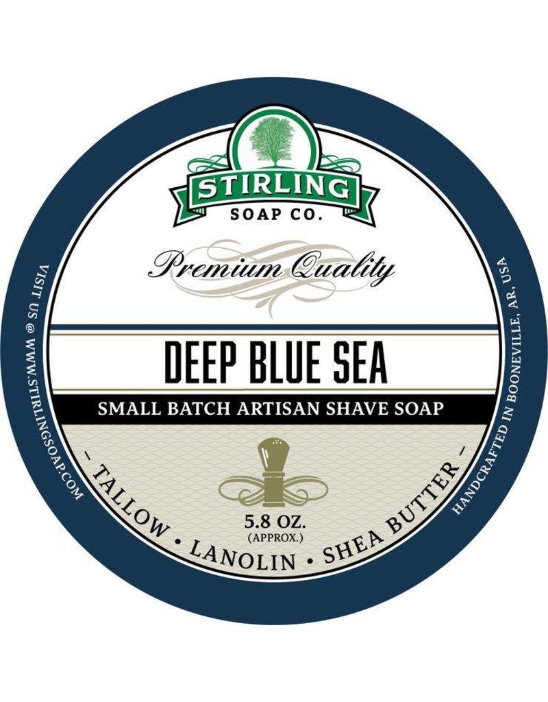 Stirling Soap Co. Stirling Shave Soap - Deep Blue Sea