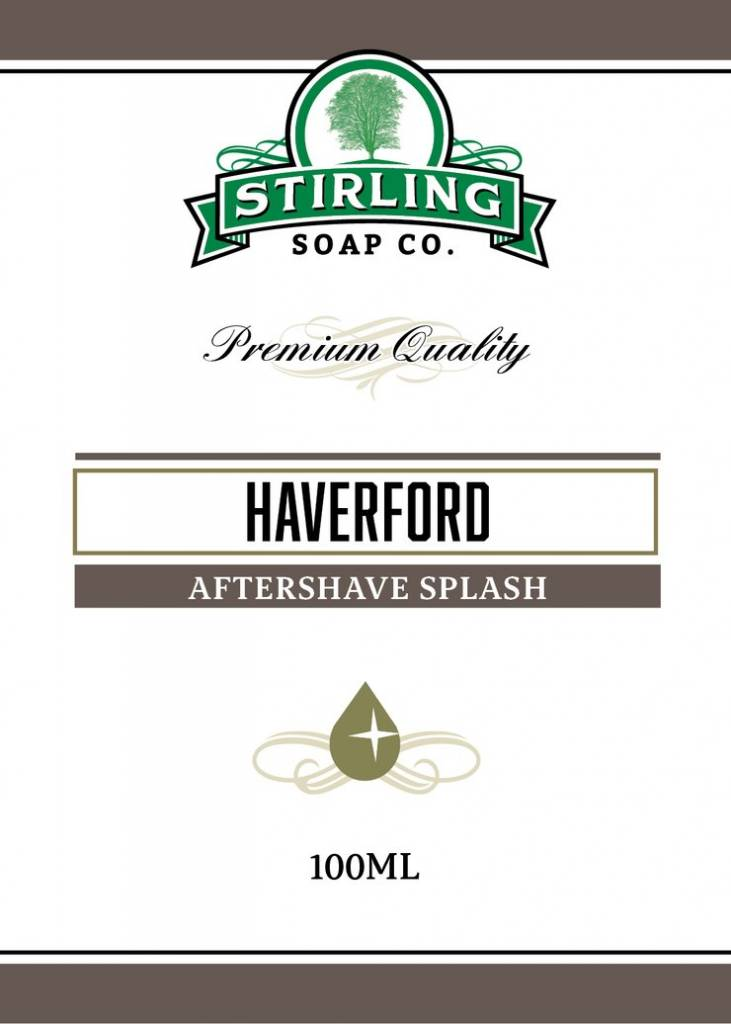Stirling Soap Co. Stirling Aftershave Splash - Haverford
