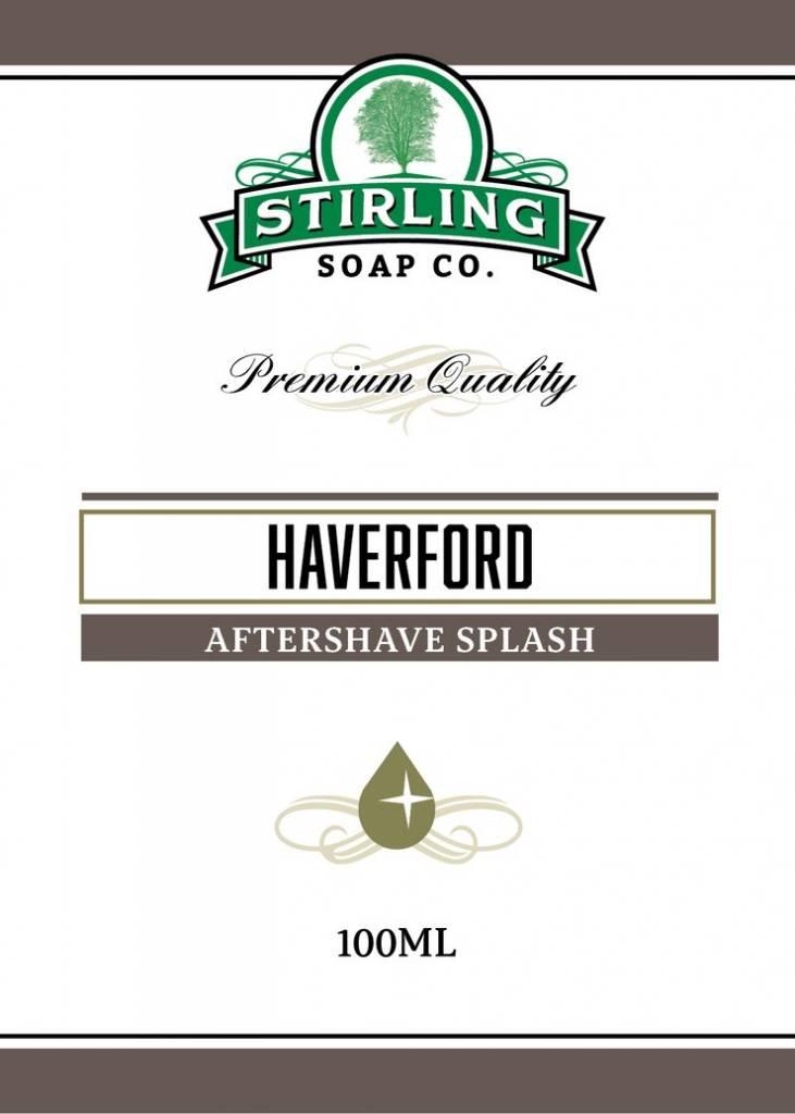 Stirling Soap Co. Stirling Aftershave Splash - Haverford