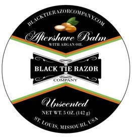 Black Tie Razor Company Black Tie Razor Co. Aftershave Balm - Unscented