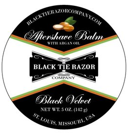 Black Tie Razor Company Black Tie Razor Co. Aftershave Balm - Black Velvet