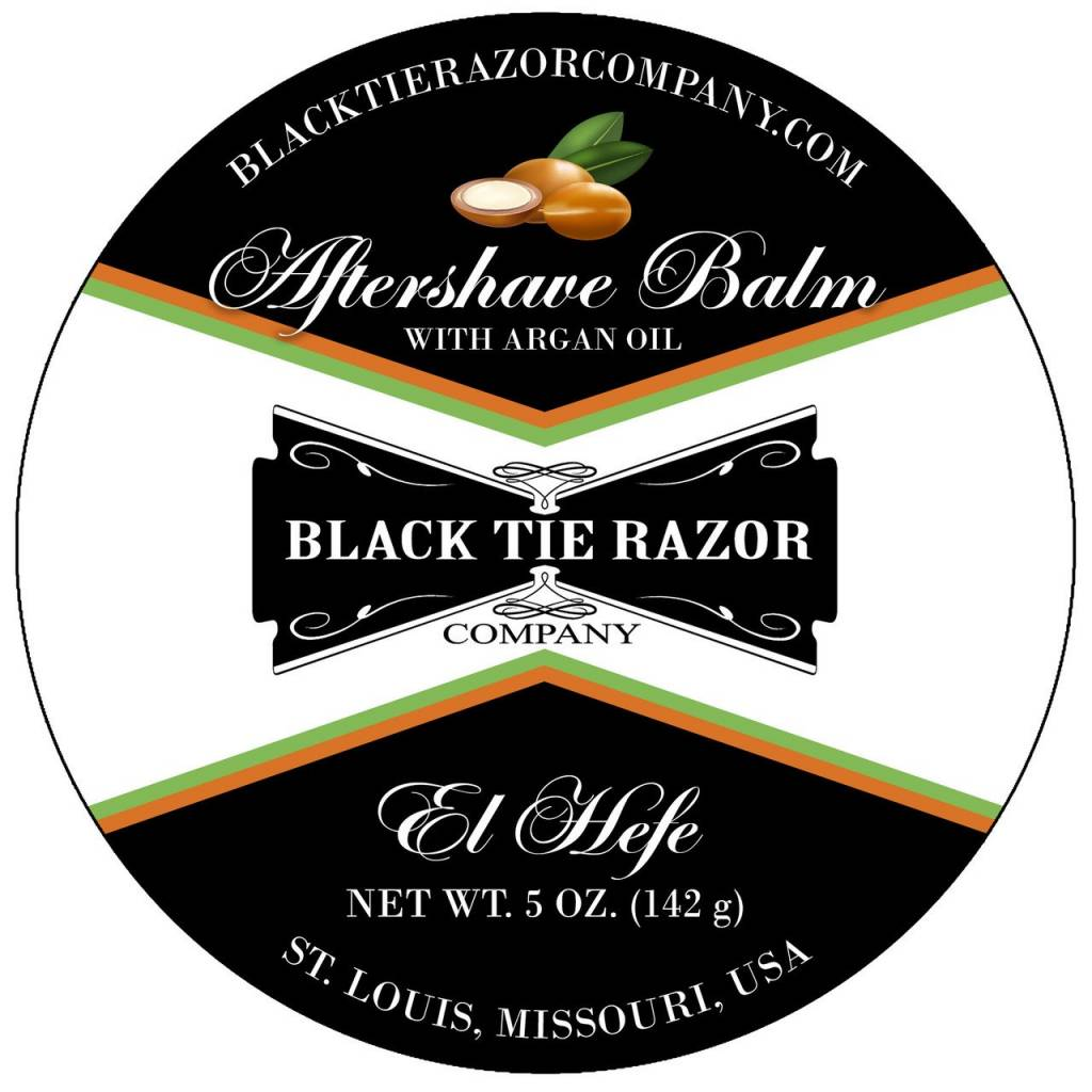 Black Tie Razor Company Black Tie Razor Co. Aftershave Balm - El Hefe