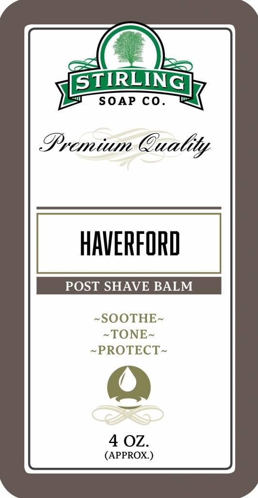 Stirling Soap Co. Stirling Post Shave Balm - Haverford