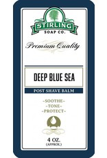 Stirling Soap Co. Stirling Post Shave Balm - Deep Blue Sea