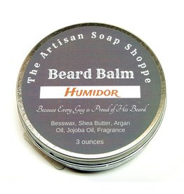 The Artisan Soap Shoppe The Artisan Soap Shoppe -  Humidor Beard Balm 3 oz.