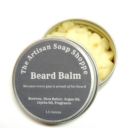 The Artisan Soap Shoppe The Artisan Soap Shoppe -  Barbershop Beard Balm 1.5 oz