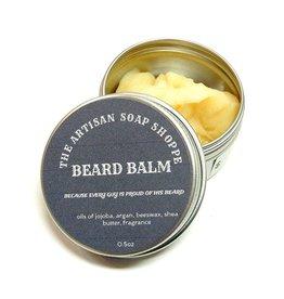 The Artisan Soap Shoppe The Artisan Soap Shoppe -  .5 Oz Barbershop Beard Balm