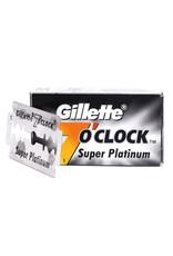 Gillette 7 O'Clock Super Platinum Double Edge Blades