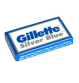 Col. Conk Gillette Silver Blue Double Edge Blades