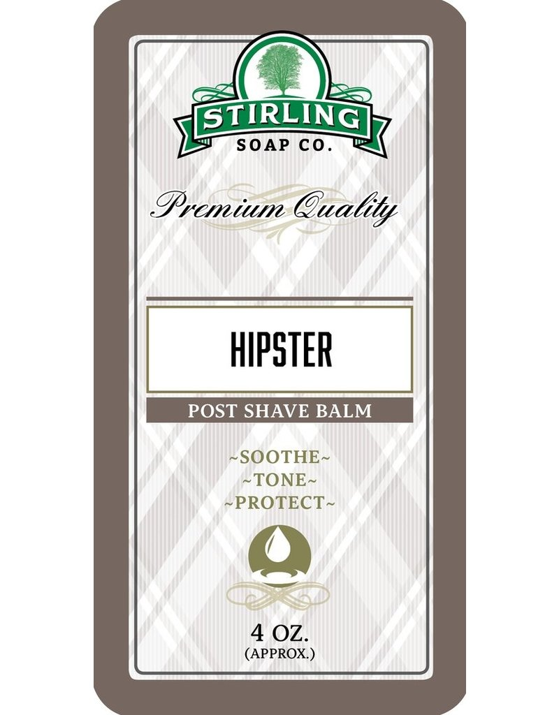 Stirling Soap Co. Stirling Post Shave Balm - Hipster