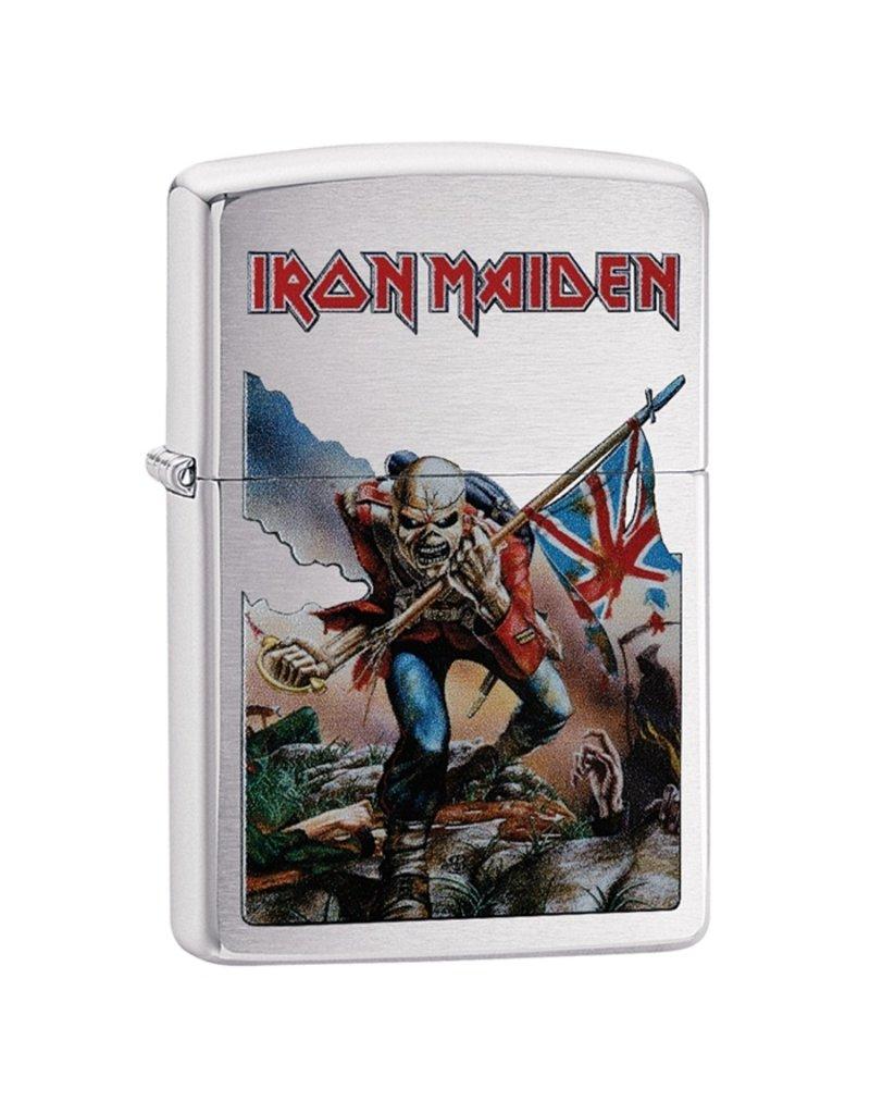 Zippo Iron Maiden Flag Lighter