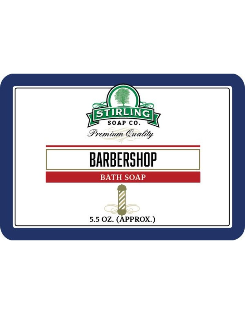 Stirling Soap Co. Stirling Bath Soap - Barbershop