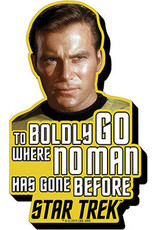 NMR Distribution Chunky Magnet - Captain Kirk Quote